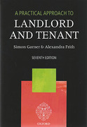 Cover of A Practical Approach to Landlord and Tenant