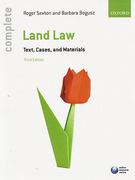 Cover of Complete Land Law: Text Cases and Materials