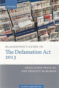 Cover of Blackstone's Guide to the Defamation Act