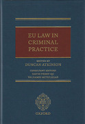 Cover of EU Law in Criminal Practice