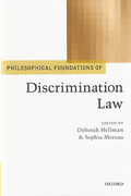 Cover of Philosophical Foundations of Discrimination Law