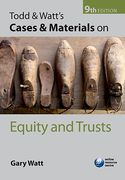 Cover of Todd and Watt's Cases and Materials on Equity and Trusts