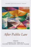 Cover of After Public Law