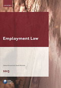 Cover of Employment Law 2013