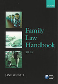 Cover of LPC: Family Law Handbook 2013