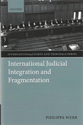 Cover of International Judicial Integration and Fragmentation