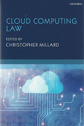 Cover of Cloud Computing Law