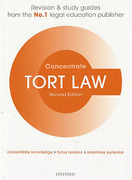 Cover of Concentrate: Tort Law