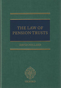 Cover of The Law of Pension Trusts
