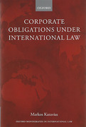 Cover of Corporate Obligations Under International Law