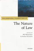 Cover of Philosophical Foundations of The Nature of Law