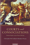 Cover of Courts and Consociations: Human Rights Versus Power-Sharing