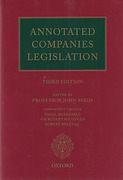 Cover of Annotated Companies Legislation