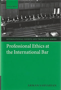 Cover of Professional Ethics at the International Bar