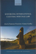 Cover of Enforcing International Cultural Heritage Law