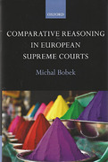 Cover of Comparative Reasoning in European Supreme Courts