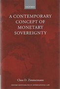 Cover of A Contemporary Concept of Monetary Sovereignty