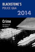 Cover of Blackstone's Police Q&A 2014: Crime