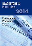 Cover of Blackstone's Police Q&A 2014: Evidence & Procedure