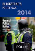 Cover of Blackstone's Police Q&A 2014: General Police Duties