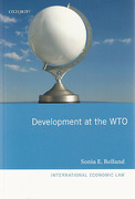 Cover of Development at the WTO