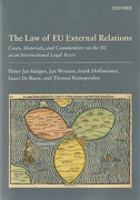 Cover of The Law of EU External Relations: Cases, Materials, and Commentary on the EU as an International Legal Actor
