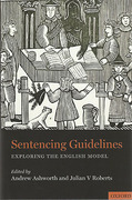 Cover of Sentencing Guidelines: Exploring the English Model