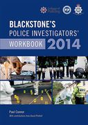 Cover of Blackstone's Police Investigators' Workbook 2014