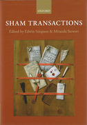 Cover of Sham Transactions