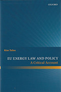 Cover of EU Energy Law and Policy: A Critical Account