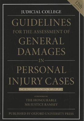 Judicial College Guidelines >> Wildy & Sons Ltd — The World's Legal Bookshop Search Results for isbn: '9780199687824'