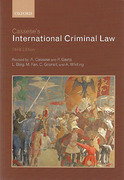 Cover of Cassese's International Criminal Law