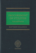 Cover of Procurement of Utilities: Law and Practice