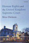 Cover of Human Rights and the UK Supreme Court