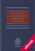 Cover of Wilmot-Smith on Construction Contracts (eBook)