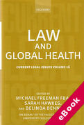 Cover of Current Legal Issues Volume 16: Law and Global Health (eBook)