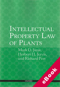 Cover of Intellectual Property Law of Plants (eBook)