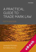 Cover of A Practical Guide to Trade Mark Law (eBook)