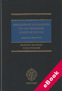Cover of Preliminary References to the European Court of Justice (eBook)