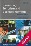 Cover of Preventing Terrorism and Violent Extremism (eBook)