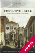 Cover of Preventive Justice (eBook)