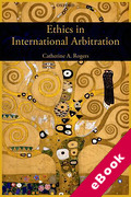 Cover of Ethics in International Arbitration (eBook)