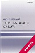 Cover of The Language of Law (eBook)