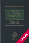 Cover of The EU Citizenship Directive: A Commentary (eBook)