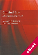 Cover of Criminal Law: A Comparative Approach (eBook)