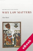 Cover of Why Law Matters (eBook)