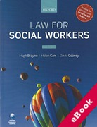 Cover of Law for Social Workers (eBook)