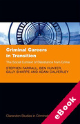 Cover of Criminal Careers in Transition: The Social Context of Desistance from Crime (eBook)