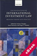 Cover of The Foundations of International Investment Law: Bringing Theory into Practice (eBook)