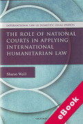 Cover of The Role of National Courts in Applying International Humanitarian Law (eBook)